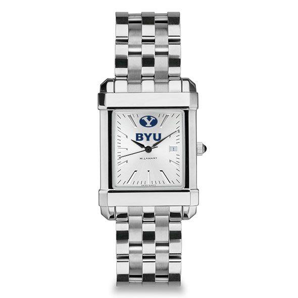 Brigham Young University Men's Collegiate Watch w/ Bracelet - Image 2