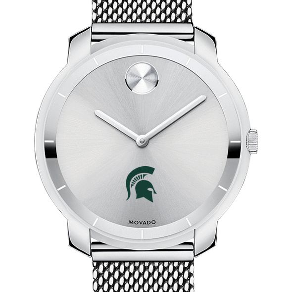 Michigan State University Women's Movado Stainless Bold 36