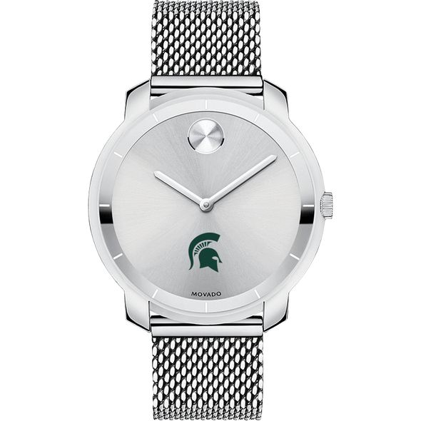 Michigan State University Women's Movado Stainless Bold 36 - Image 2