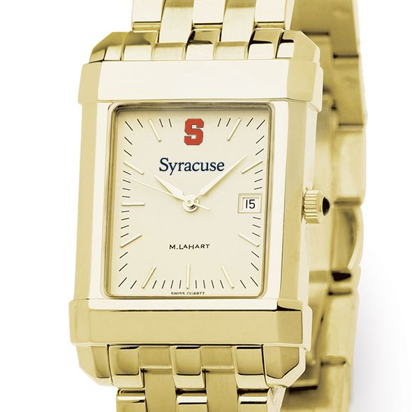 Syracuse University Men's Gold Quad with Bracelet