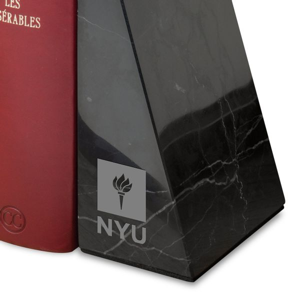 New York University Marble Bookends by M.LaHart - Image 2