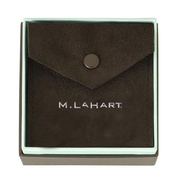 Miami University Pearl Necklace with Sterling Silver Charm - Image 4