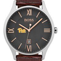 Pitt Men's BOSS Classic with Leather Strap from M.LaHart