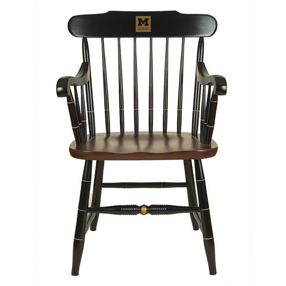 University of Michigan Captain's Chair by Hitchcock
