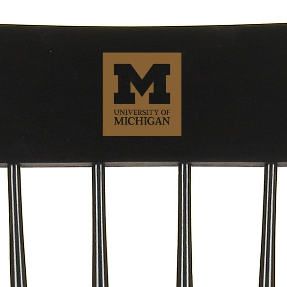 University of Michigan Captain's Chair by Hitchcock - Image 2