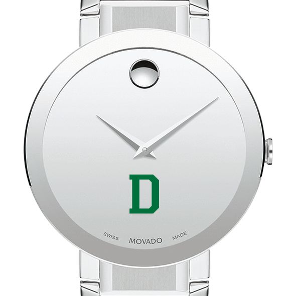 Dartmouth College Men's Movado Sapphire Museum with Bracelet