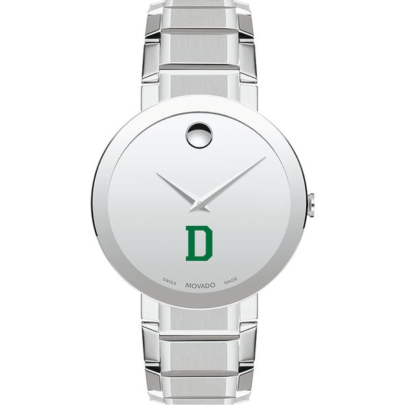 Dartmouth College Men's Movado Sapphire Museum with Bracelet - Image 2