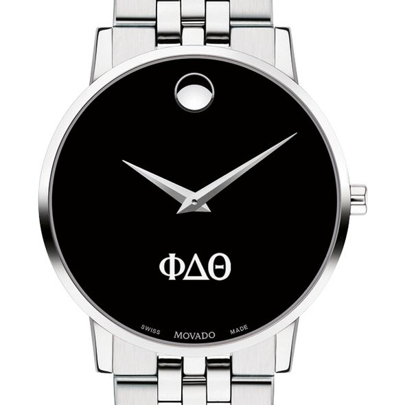 Phi Delta Theta Men's Movado Museum with Bracelet - Image 1