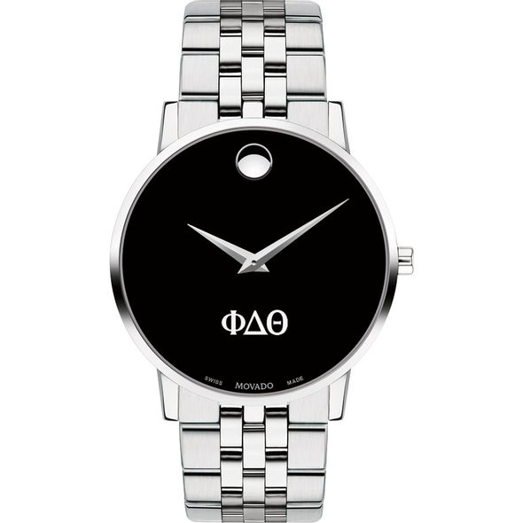 Phi Delta Theta Men's Movado Museum with Bracelet - Image 2
