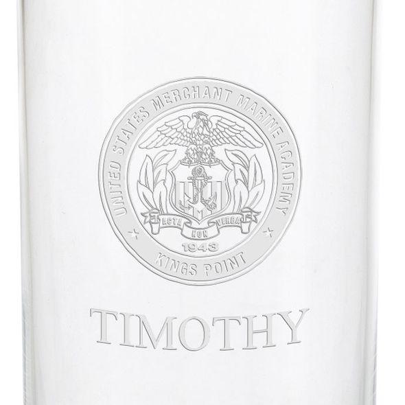 US Merchant Marine Academy Iced Beverage Glasses - Set of 2 - Image 3