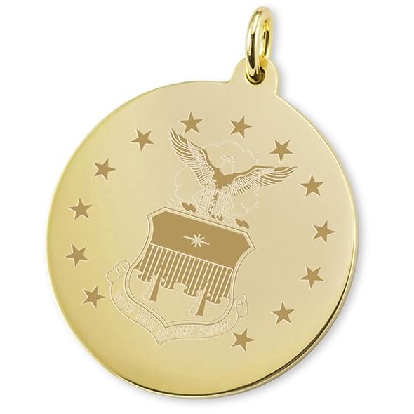 Air Force Academy 18K Gold Charm - Image 2