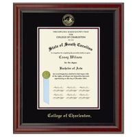 College of Charleston Diploma Frame, the Fidelitas