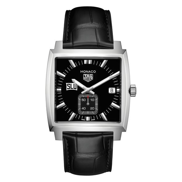 Saint Louis University TAG Heuer Monaco with Quartz Movement for Men - Image 2