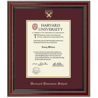 Harvard Business School Diploma Frame, the Fidelitas