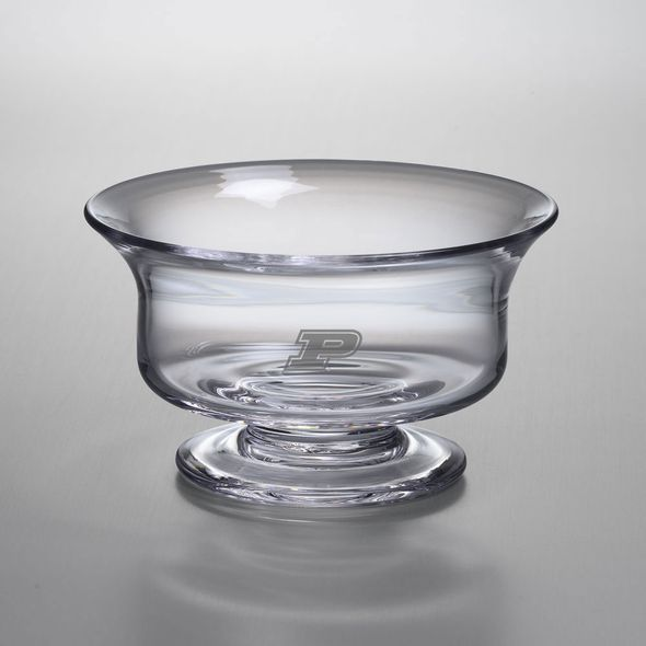 Purdue University Simon Pearce Glass Revere Bowl Med