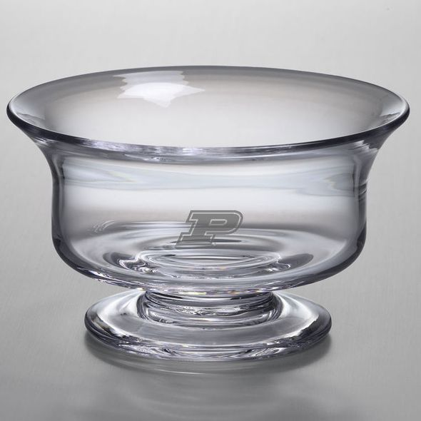 Purdue University Simon Pearce Glass Revere Bowl Med - Image 2