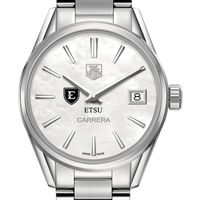East Tennessee State University Women's TAG Heuer Steel Carrera with MOP Dial