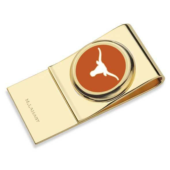 University of Texas Enamel Money Clip
