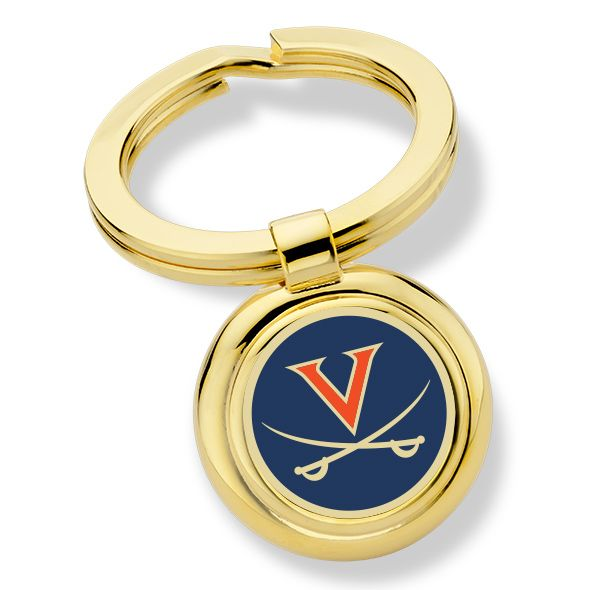University of Virginia Enamel Key Ring