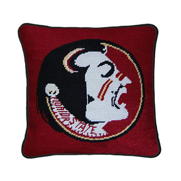 Florida State University Handstitched Pillow