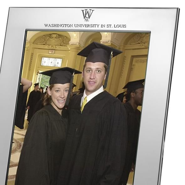 WUSTL Polished Pewter 8x10 Picture Frame - Image 2