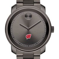University of Wisconsin Men's Movado BOLD Gunmetal Grey