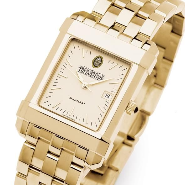 Tennessee Men's Gold Quad Watch with Bracelet - Image 1