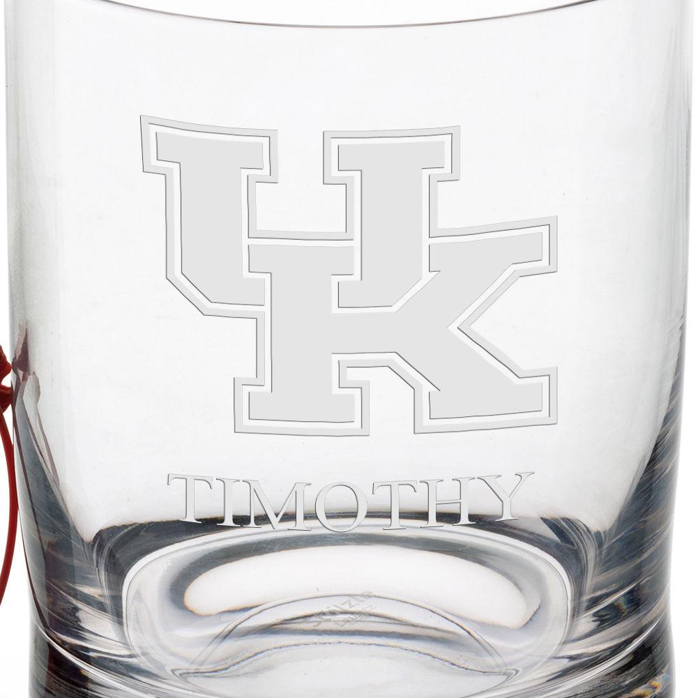 University of Kentucky Tumbler Glasses - Set of 4 - Image 3