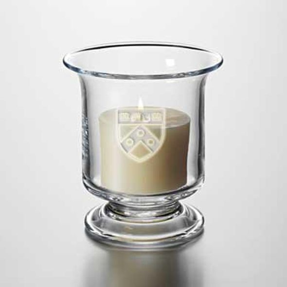 Penn Glass Hurricane Candleholder by Simon Pearce