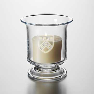 Penn Glass Hurricane Candleholder by Simon Pearce - Image 1