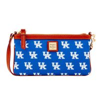 Kentucky Dooney & Bourke Large Slim Wristlet