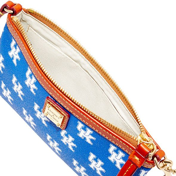 Kentucky Dooney & Bourke Large Slim Wristlet - Image 3