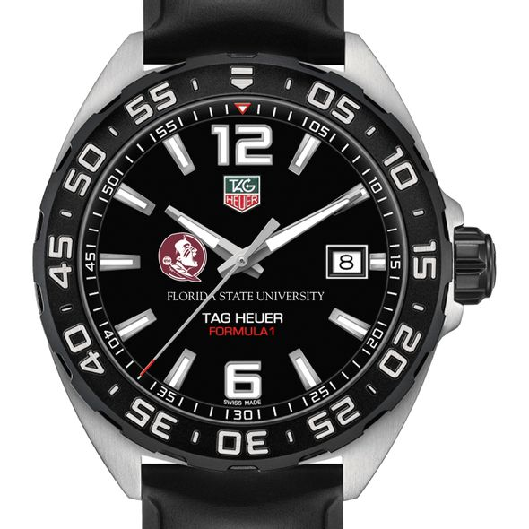 Florida State University Men's TAG Heuer Formula 1 with Black Dial - Image 1