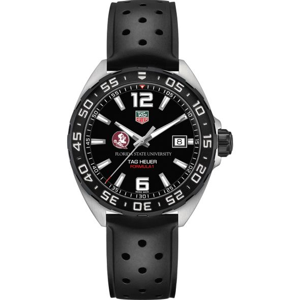 Florida State University Men's TAG Heuer Formula 1 with Black Dial - Image 2