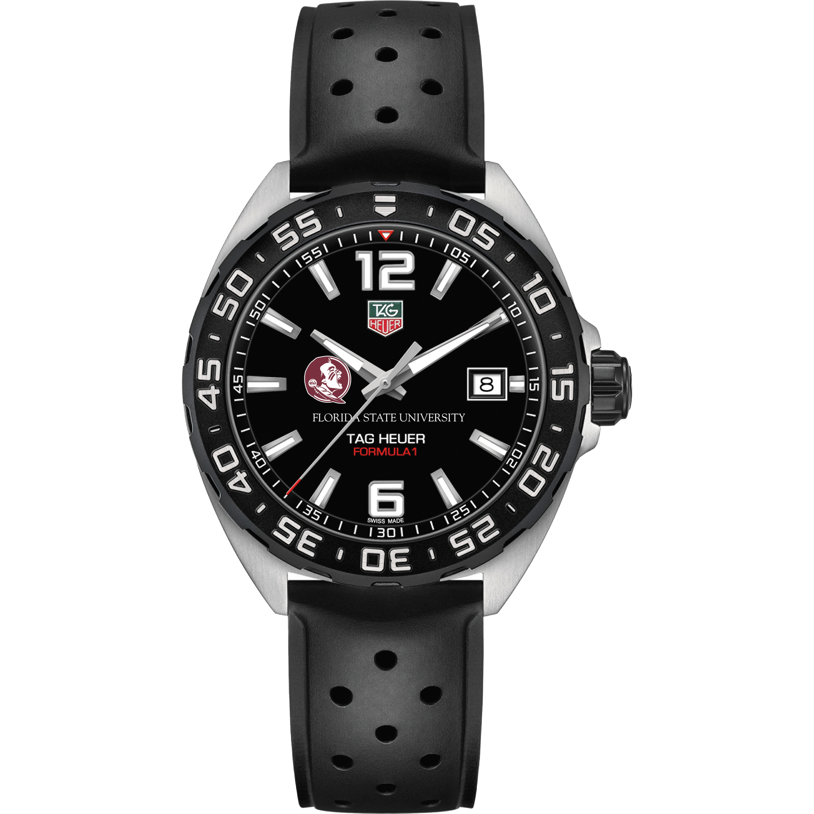 Florida State Men's TAG Heuer Formula 1 with Black Dial - Image 2