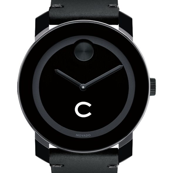 Colgate University Men's Movado BOLD with Leather Strap