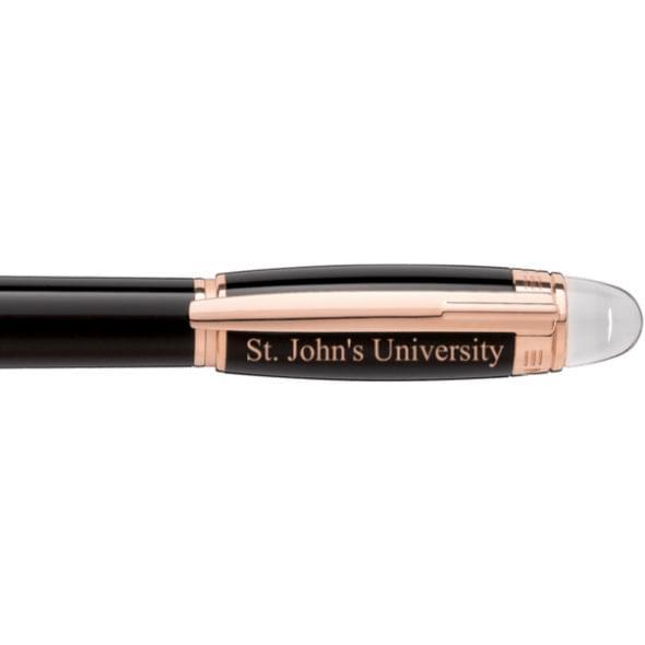 St. John's University Montblanc StarWalker Fineliner Pen in Red Gold - Image 2