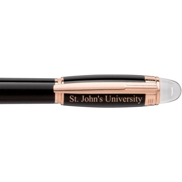 St. John's University Montblanc StarWalker Fineliner Pen in Red Gold - Image 2