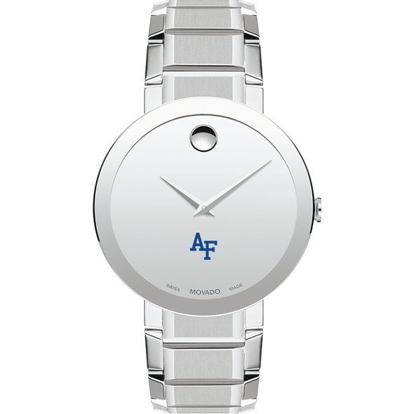 US Air Force Academy Men's Movado Sapphire Museum with Bracelet - Image 2