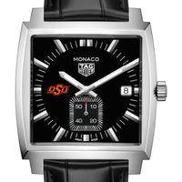 Oklahoma State University TAG Heuer Monaco with Quartz Movement for Men