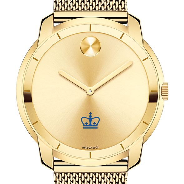 Columbia University Men's Movado Gold Bold 44 - Image 1