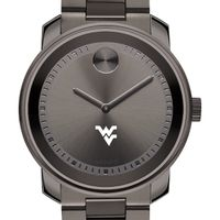 West Virginia University Men's Movado BOLD Gunmetal Grey