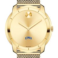 Christopher Newport University Men's Movado Gold Bold 44