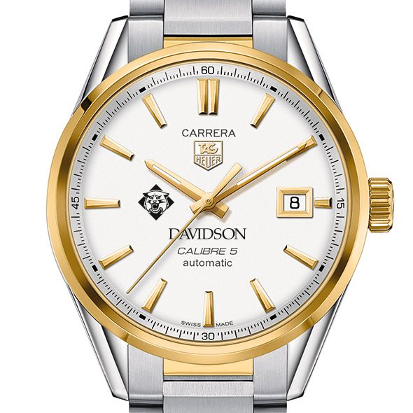 Davidson College Men's TAG Heuer Two-Tone Carrera with Bracelet