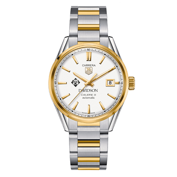Davidson College Men's TAG Heuer Two-Tone Carrera with Bracelet - Image 2