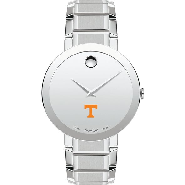 University of Tennessee Men's Movado Sapphire Museum with Bracelet - Image 2