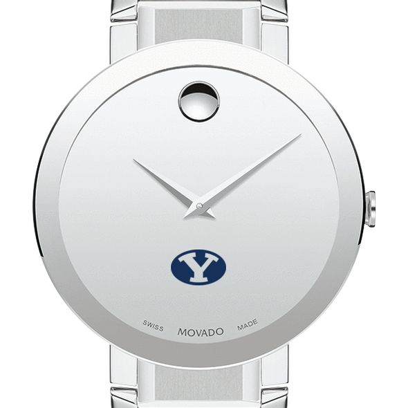 Brigham Young University Men's Movado Sapphire Museum with Bracelet