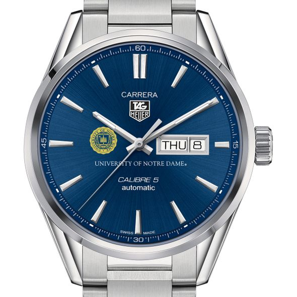 University of Notre Dame Men's TAG Heuer Carrera with Day-Date