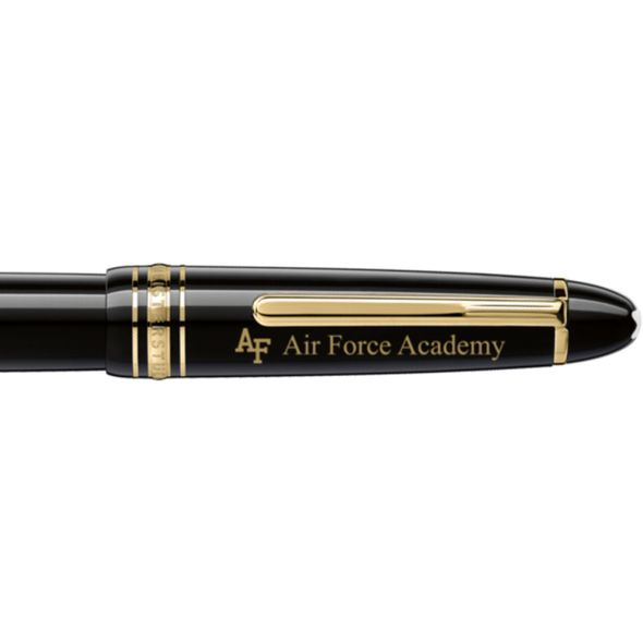 US Air Force Academy Montblanc Meisterstück LeGrand Rollerball Pen in Gold - Image 2