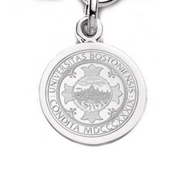 Boston University Sterling Silver Charm